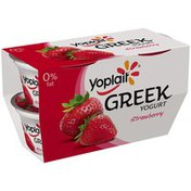 Yoplait Greek Strawberry Fat Free Yogurt
