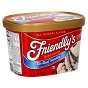 Friendly's Premium Ice Cream, Tin Roof Sundae