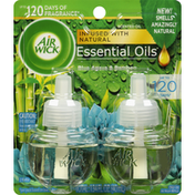 Air Wick Scented Oil Refills, Blue Agave & Bamboo