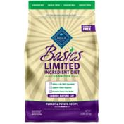 Blue Buffalo Basics Limited Ingredient Diet Grain Free, Natural Indoor Mature Dry Cat Food, Turkey & Potato