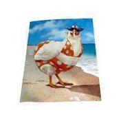 Avanti Bikini Chicken Card