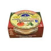 Holy Land Garlic Basil Tomato Hummus