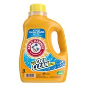 Arm & Hammer Plus OxiClean Stain Fighters Clean Meadow Liquid Laundry Detergent
