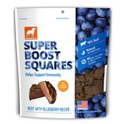 Dogswell Super Boost Squares Treats For All Dogs, Beef With Blueberry Recipe