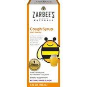 Zarbee's Naturals Grape Dark Honey Cough Syrup Dietary Supplement