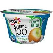 Yoplait Greek 100 Calories Caramel Apple Limited Edition Fat Free Yogurt