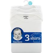 Gerber Shirts, Slip On, 6-9 Months
