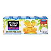 Minute Maid Kids+ Pulp Free 100% Orange Juice - 10 PK
