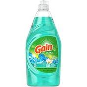 Gain Dishwashing Liquid Dish Soap, Ocean Water Sparkle Scent