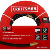 Craftsman Air Hose, Rubber, 50 Feet