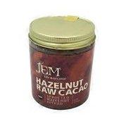 JEM Organics Raw Organic Hazelnut Raw Cacao