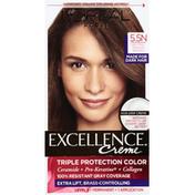 Excellence Permanent Hair Color, Neutral Medium Brown 5.5N