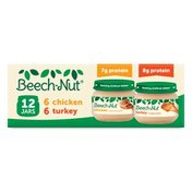 Beech-Nut Baby Food, Chicken + Chicken Broth, Turkey + Turkey Broth