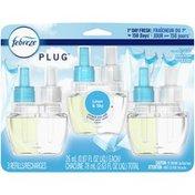 Febreze Odor-Eliminating Fade Defy Air Freshener Refill, Linen & Sky