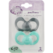 Always My Baby Pacifiers, 6-12 Months, 2 Pack