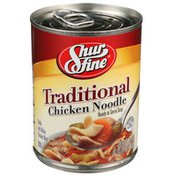 Shurfine Traditional Chicken Noodle Ready Serve Soup