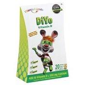 Vitamin Friends Vitamin D, DiYo, Banana Yogurt Bears