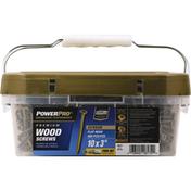 Hillman Group Screws, Wood, Premium, Exterior