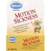 Hyland's Motion Sickness, Tablets