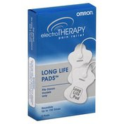 Omron Electro Therapy, Pain Relief, Long Life Pads, Reusable, Box