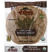 Mi Rancho Tortillas, Organic, Whole Wheat