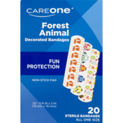 CareOne Fun Protection Bandages Forest Animal