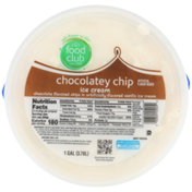 Food Club Chocolatey Chip Chocolate Flavored Chips In Vanilla Ice Cream