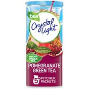 Crystal Light Pomegranate Green Tea Naturally Flavored Powdered Drink Mix