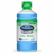 Pedialyte AdvancedCare Electrolyte Solution Blue Raspberry Ready to Drink Bottle