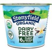 Stonyfield Organic Dairy Free Vanilla Soy Yogurt