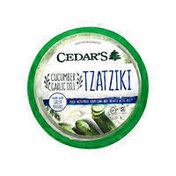 Cedar's Mediterranean Foods Cucumber Garlic & Dill Tzatziki Dip