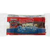 Little Debbie Fudge Brownie with English Walnuts