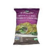 Fresh Gourmet Spinach & Kale Snack Chips