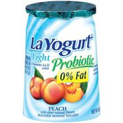 La Yogurt Blended Lowfat Yogurt, Peach