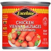 Excelsior Chicken Vienna Sausages In Chicken Broth