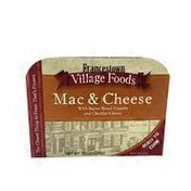 Francetown Village Foods Classic Mac & Cheese With Bacon Bread Crumbs