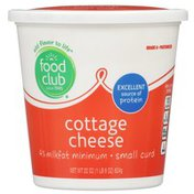 Food Club 4% Small Curd Cottage Cheese