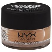 NYX Professional Makeup Concealer, Full Coverage, Glow CJ06