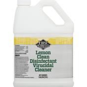 First Street Virucidal Cleaner, Disinfectant, Lemon Clean
