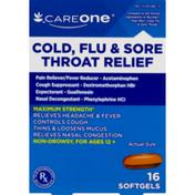 CareOne Cold, Flu & Sore Throat Relief