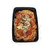Weiland's Spaghetti With Beef Meatballs