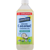 Carrington Farms Cooking Oil, Organic, Coconut, Unflavored