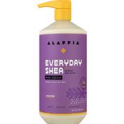 Alaffia Body Lotion, Lavender