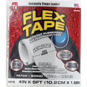 FLEX TAPE White, Strong Rubberized, Waterproof