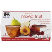 Food Lion Mixed Fruit, Cherry, Sleeve