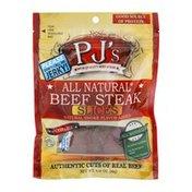 PJ's Beef Steak Slices Teriyaki