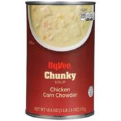 Hy-Vee Chicken Corn Chowder Chunky Soup