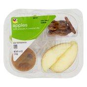 SB Apples with Pretzel & Caramel Dip