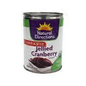 Natural Directions Jellied Cranberry Sauce