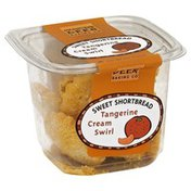 Dancing Deer Baking Co. Sweet Shortbread, Tangerine Cream Swirl, Tub